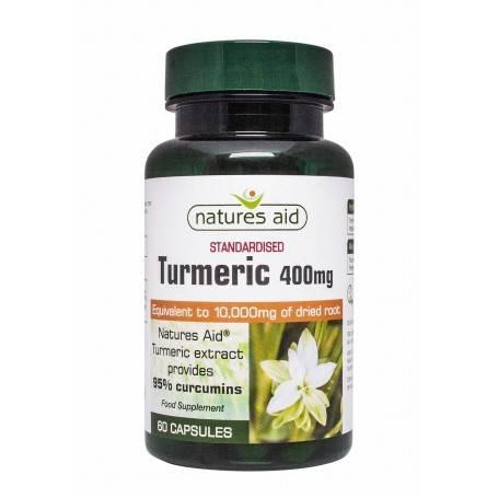 Natures Aid Turmeric 95, 60 capsule vegetale