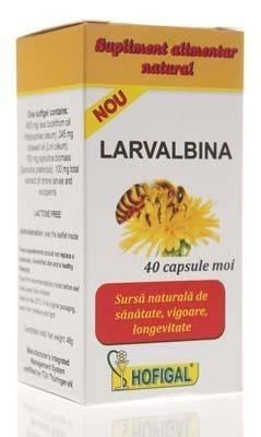Larvalbina - cutie 40 capsule moi thumbnail
