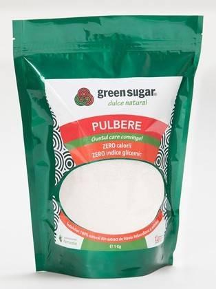 green sugar pulbere 1kg - indulcitor natural