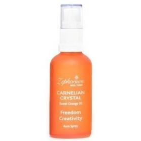 Spray Carnelian Crystal cu Ulei de Portocale