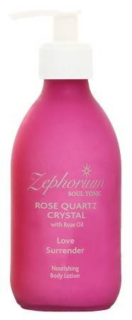 lotiune de corp rose quartz crystal cu ulei de trandafir