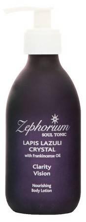 lotiune de corp lapis lazuli crystal cu ulei de tamaie