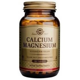 CALCIUM MAGNESIUM tabs 100tb SOLGAR