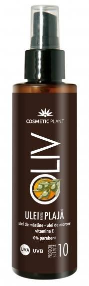 ulei spray pentru plaja olive spf10 150ml cosmetic plant