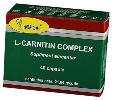 L-Carnitin complex 40 caps thumbnail