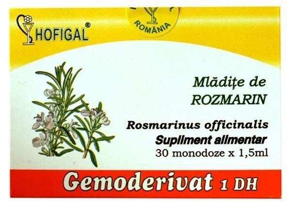 Mladite de rozmarin - Gemoderivat 30 Monodoze thumbnail