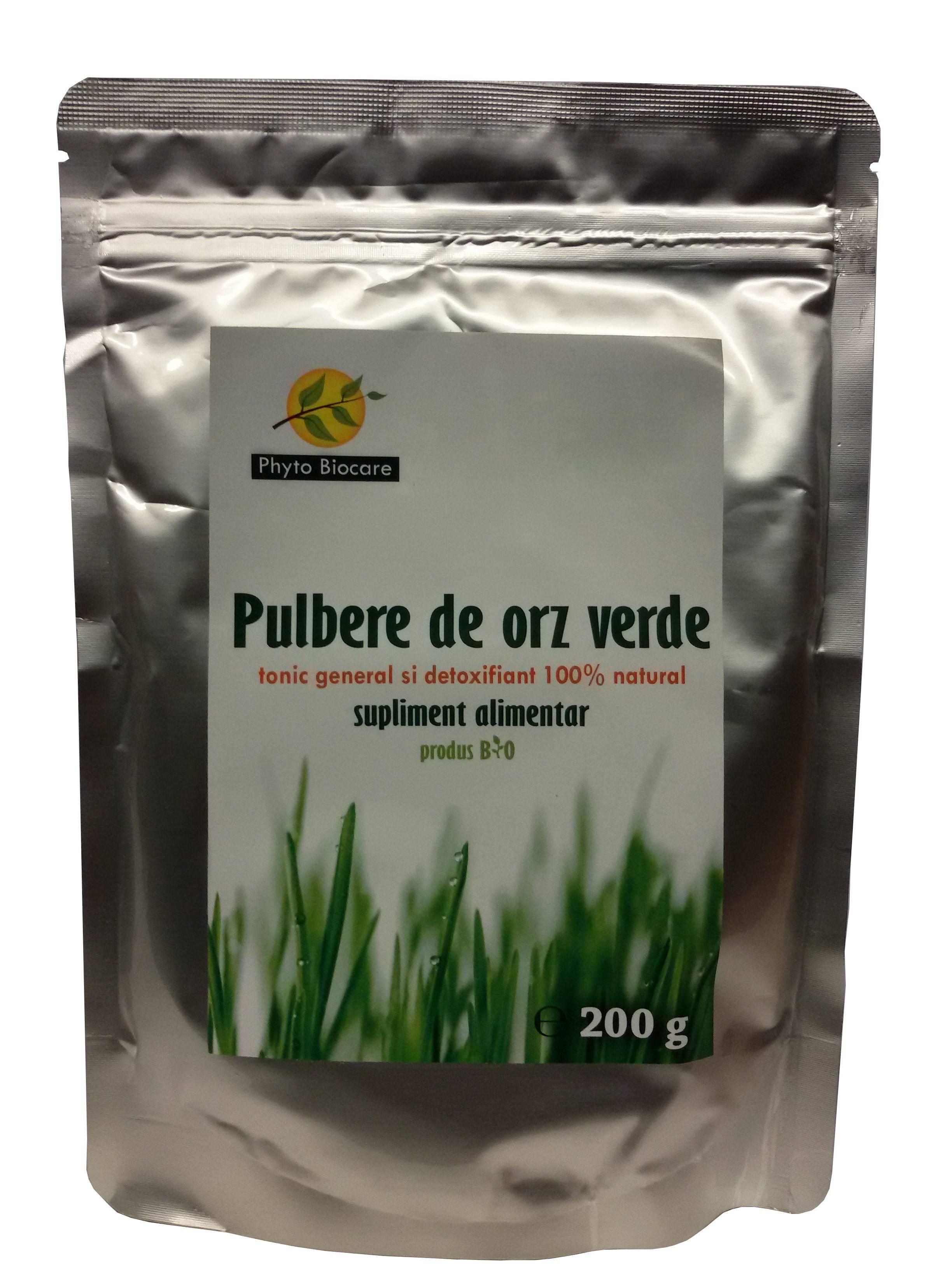 pulbere de orz verde 200g