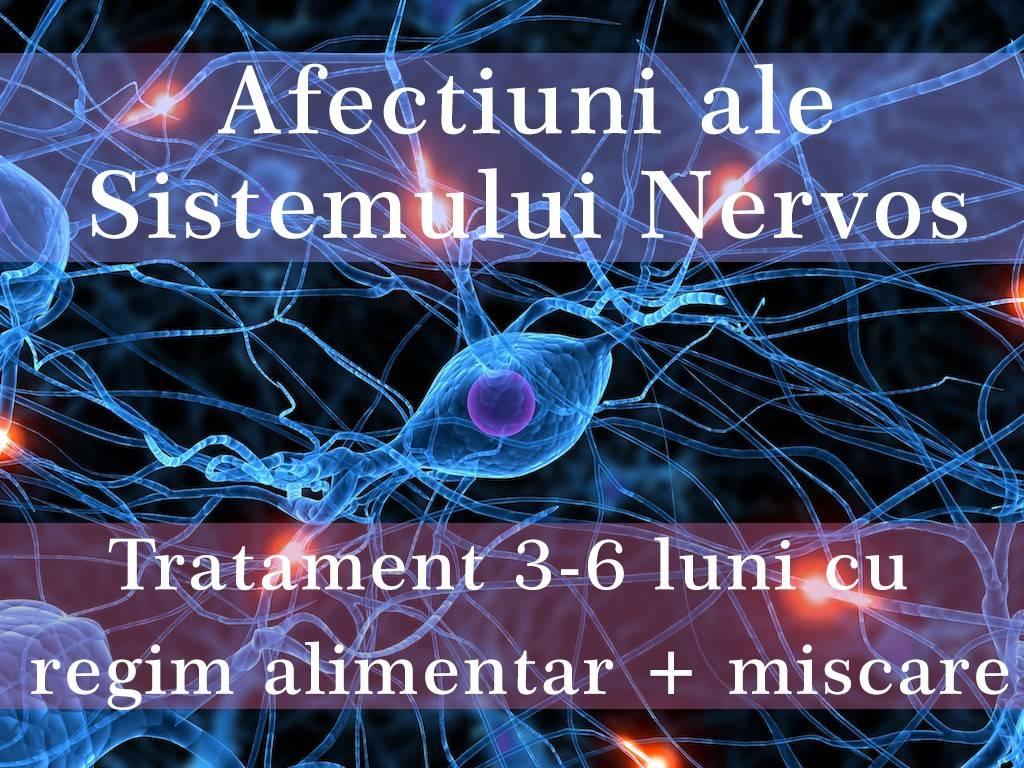 protocol afectiuni ale sistemului nervos
