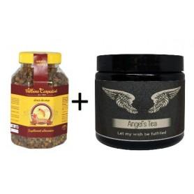 Pastura 500g Albina Carpatina + Angel's Tea 28g
