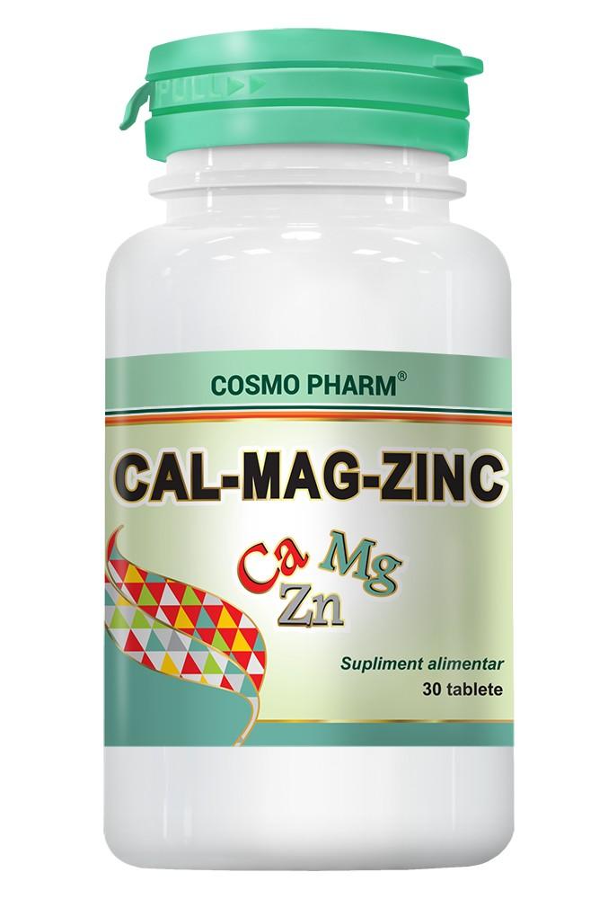 CALCIU - MAGNEZIU - ZINC 30TAB thumbnail