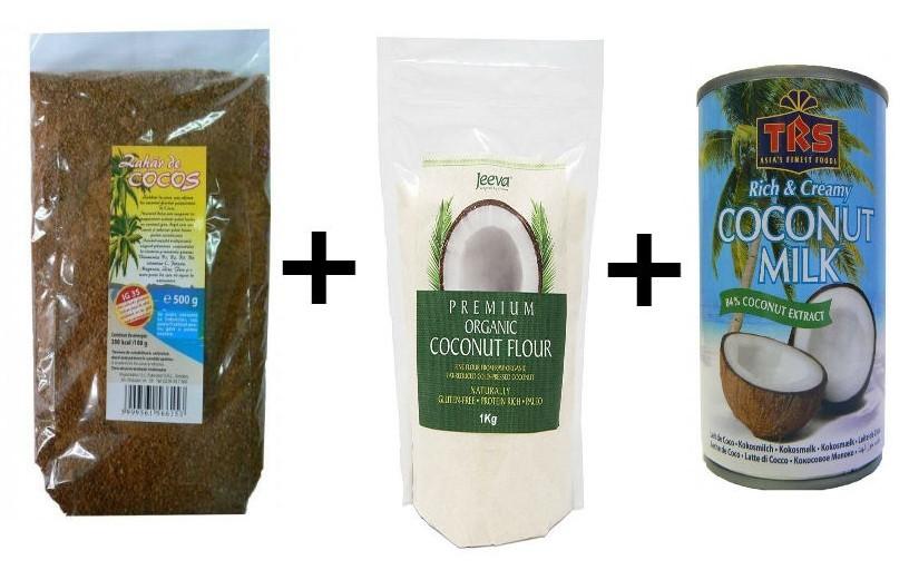 Pachet Lapte de cocos 2