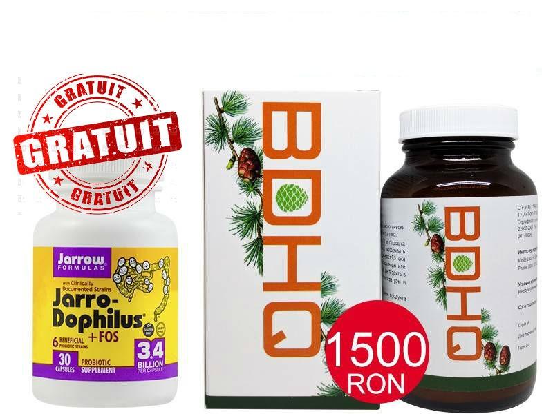 pachet bdhq 13g siberia + jarro -dophilus +fos 30cps