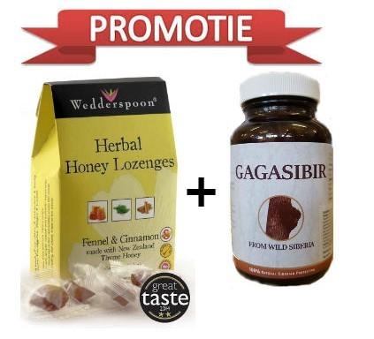pachet gagasibir +bomboane din miere de cimbrisor