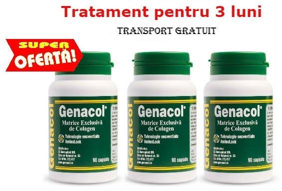 pachet tratament pentru 3 luni genacol