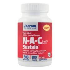 n-a-c sustain 600mg 100cps