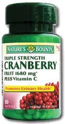 CRANBERRY(MERISOR) + VITAMINA C 30tb thumbnail