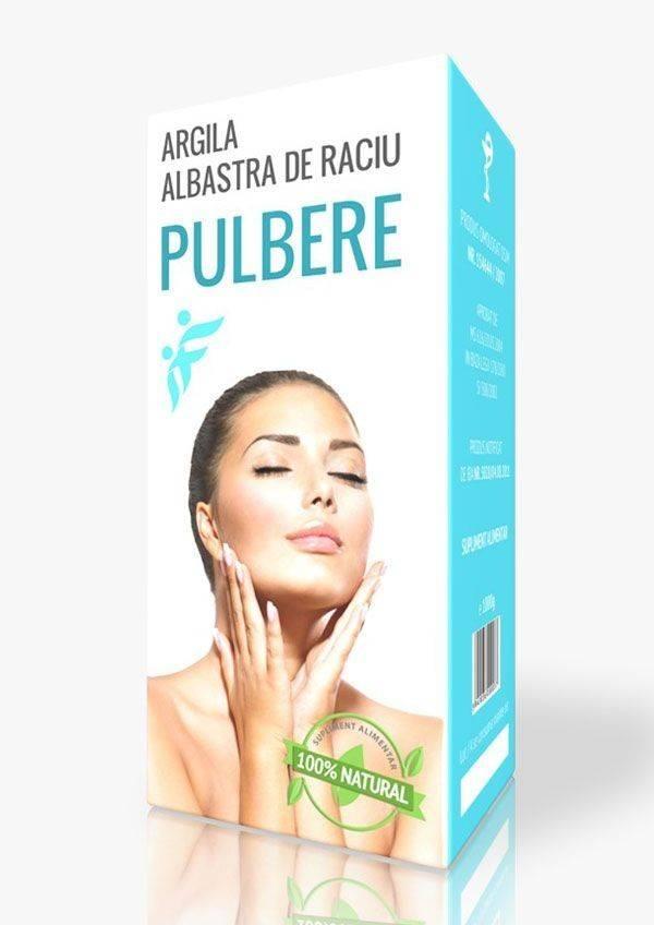 ARGILA ALBASTRA DE RACIU PULBERE 1KG thumbnail