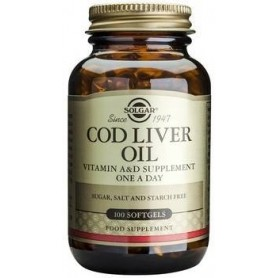 Cod Liver Oil softgels 100s