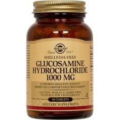Glucosamine HCI 1000mg (Shellfish-Free)tabs 60s SOLGAR