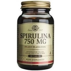Spirulina 750 mg tabs 100s