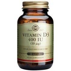 Vitamin D3 400 IU softgels 100s SOLGAR