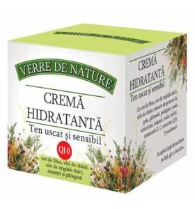 Crema hidratanta ten uscat si sensibil 50 ml cu unt de shea thumbnail