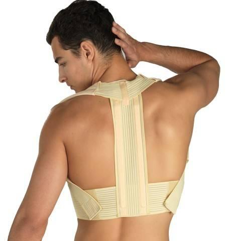 corector de postura cu insertii metalice confort