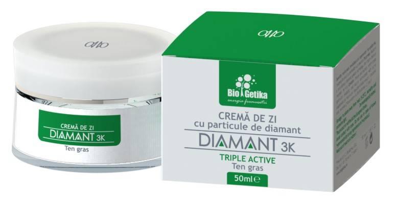 diamant 3k – crema de zi pentru ten gras – 50ml